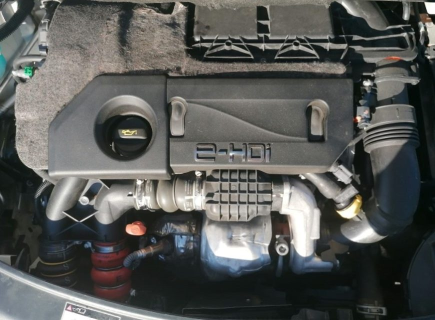 208 HDI 92 STAGE1 EGR moteur