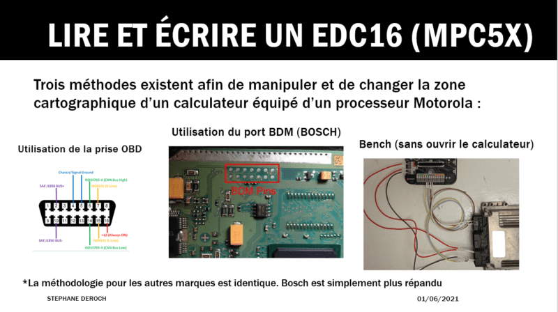 EDC16_LECTURE_BOOT_OBD_BENCH